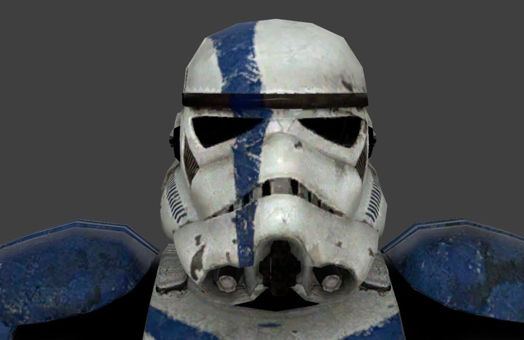 Stormtrooper Commander Screen Capture HelmetFront