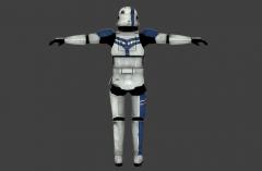 Stormtrooper Commander Screen Capture Back