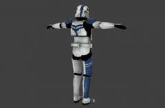 Stormtrooper Commander Screen Capture 45LeftBack