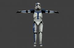 Stormtrooper Commander Screen Capture Front