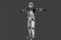 Stormtrooper Commander Screen Capture 45Right