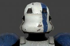 Stormtrooper Commander Screen Capture HelmetBack