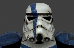 Stormtrooper Commander Screen Capture HelmetFront
