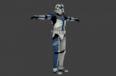 Stormtrooper Commander - Star Wars: The Force Unleashed