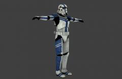 Stormtrooper Commander - Star Wars: The Force Unleashed