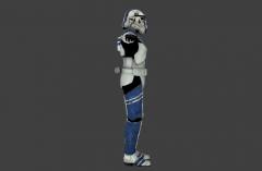 Stormtrooper Commander Screen Capture Left
