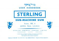 Sterling L2A3 Mk 4 - User Handbook