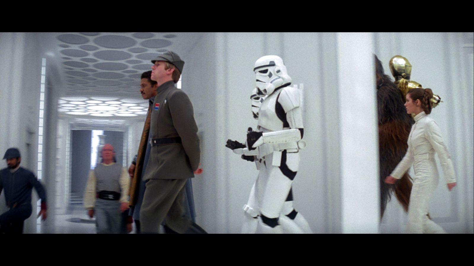 Star Wars Empire Strikes Back: Bluray Capture 101
